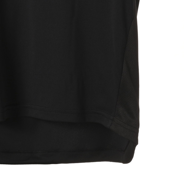 キッズ ACTIVE SS ポリ グラフィック Tシャツ (半袖), Puma Black, large-JPN