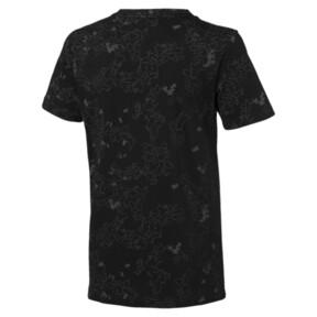 Thumbnail 2 of キッズ ACTIVE SS AOP Tシャツ (半袖), Puma Black, medium-JPN