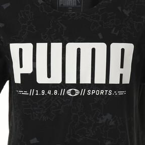 Thumbnail 3 of キッズ ACTIVE SS AOP Tシャツ (半袖), Puma Black, medium-JPN