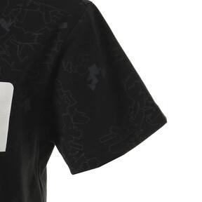 Thumbnail 4 of キッズ ACTIVE SS AOP Tシャツ (半袖), Puma Black, medium-JPN