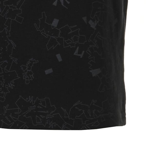 キッズ ACTIVE SS AOP Tシャツ (半袖), Puma Black, large-JPN