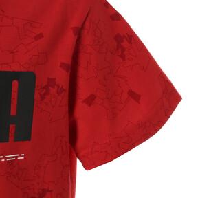 Thumbnail 4 of キッズ ACTIVE SS AOP Tシャツ (半袖), High Risk Red, medium-JPN