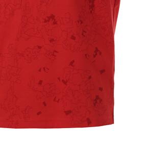Thumbnail 5 of キッズ ACTIVE SS AOP Tシャツ (半袖), High Risk Red, medium-JPN