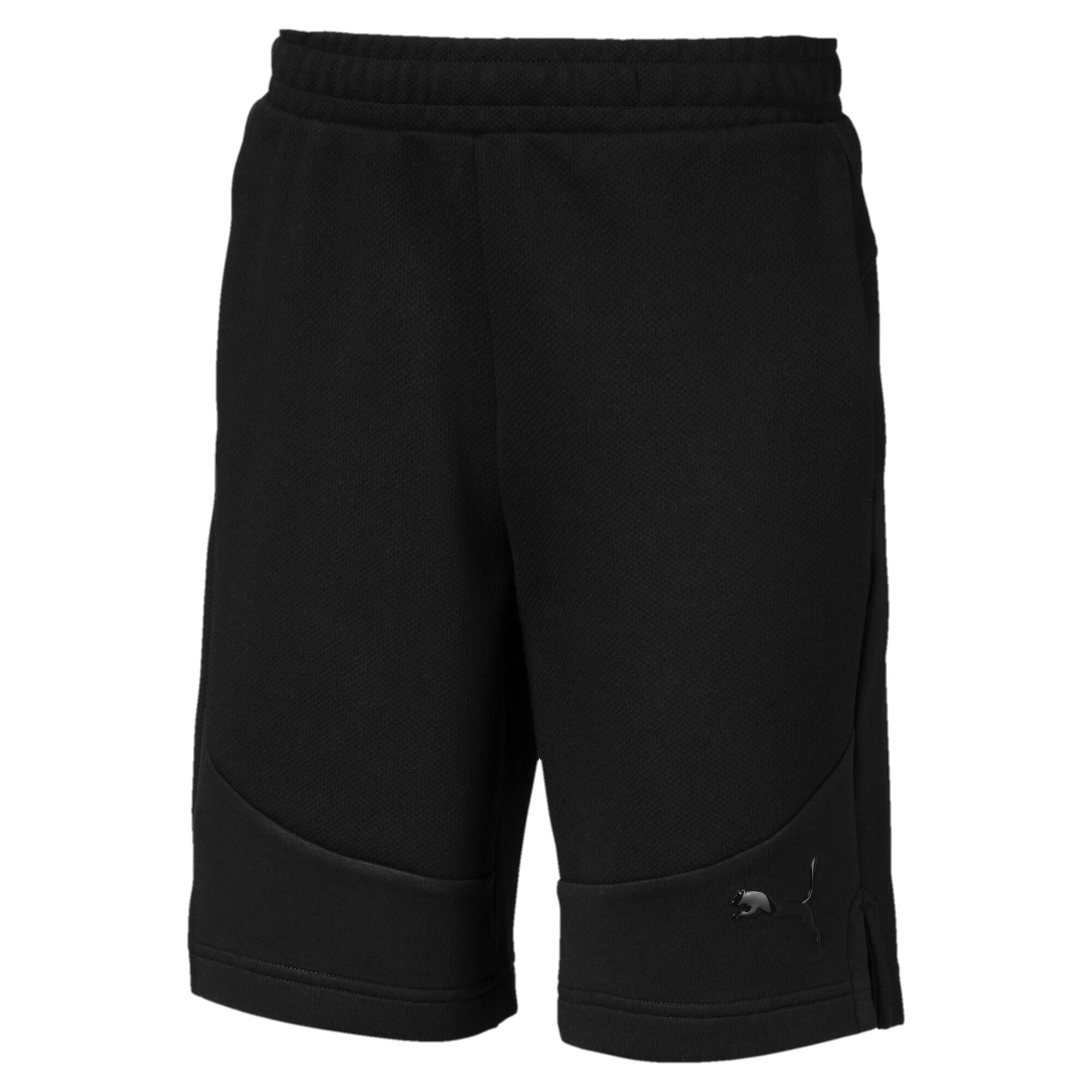 【プーマ公式通販】 プーマ キッズ EVOSTRIPE ショーツ メンズ Cotton Black |PUMA.com