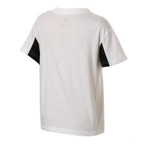 Thumbnail 2 of キッズ REBEL SS Tシャツ (半袖), Puma White, medium-JPN