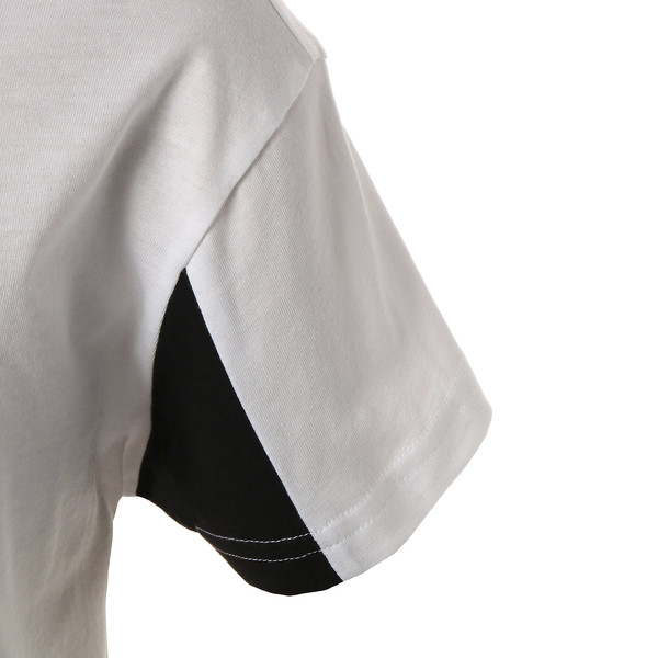 キッズ REBEL SS Tシャツ (半袖), Puma White, large-JPN