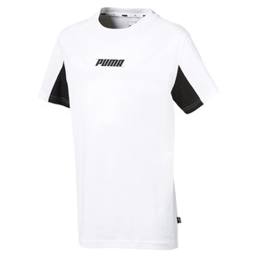 Thumbnail 1 of キッズ REBEL SS Tシャツ (半袖), Puma White, medium-JPN