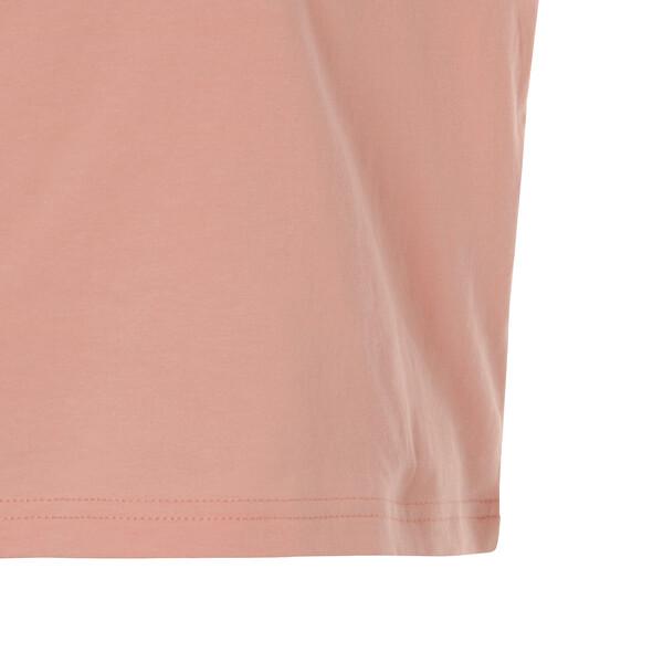 EVOSTRIPE ウィメンズ SS Tシャツ (半袖), Peach Bud, large-JPN