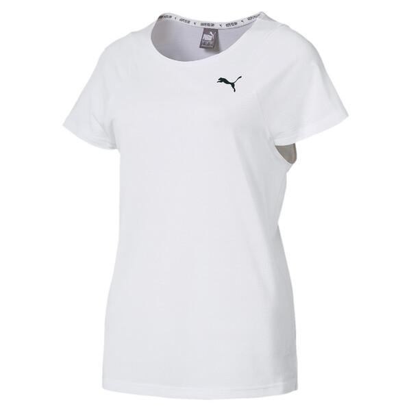 SOFT SPORTS ウィメンズ SS Tシャツ (半袖), Puma White, large-JPN