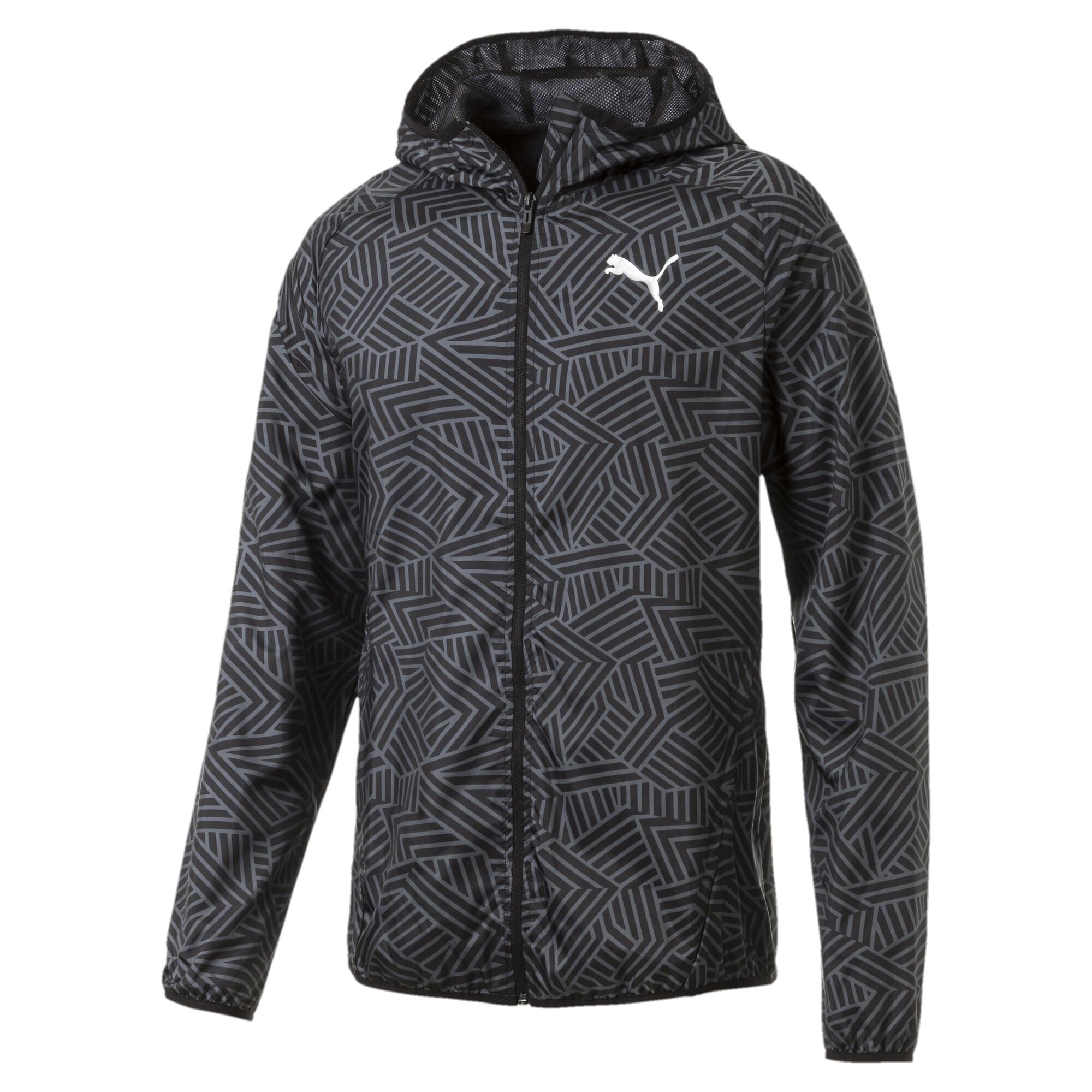 【プーマ公式通販】 プーマ AOP ウーブンジャケット メンズ Puma Black  PUMA.com