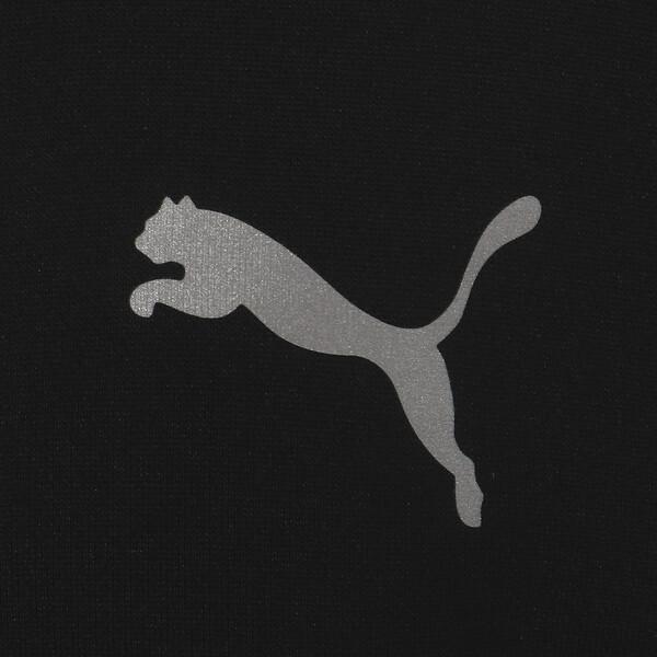 キッズ エナジー ポリ フルジップ ジャケット, Puma Black, large-JPN