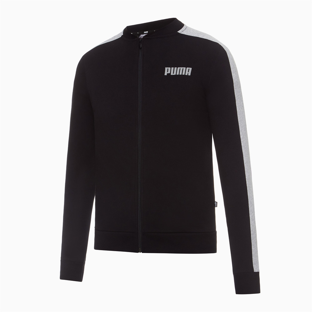 Image PUMA Contrast Full Zip Women's Sweat Jacket #1