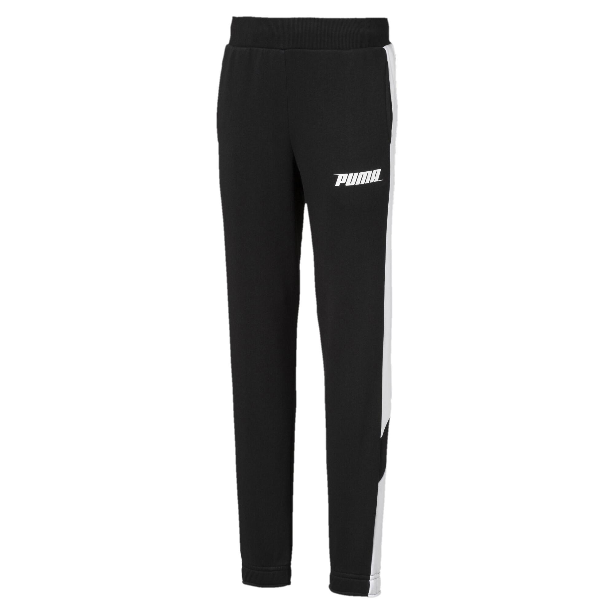 【プーマ公式通販】 プーマ キッズ REBEL パンツ メンズ Cotton Black  PUMA.com