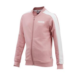 Image PUMA Contrast Full Zip Girls' Jacket