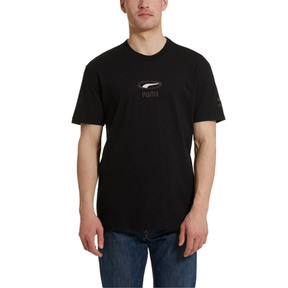 Thumbnail 1 of OG Men's Tee, Puma Black-White logo, medium