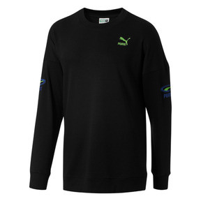 Thumbnail 1 of OG Men's Crewneck Sweatshirt, Puma Black, medium