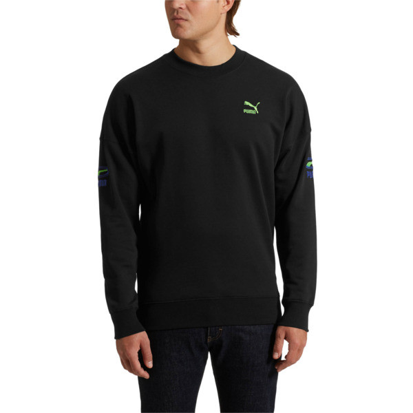OG Men's Crewneck Sweatshirt, Puma Black, large