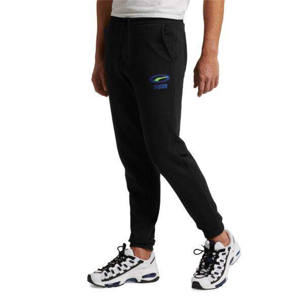 OG Men's Cuffed Pants, Puma Black, large
