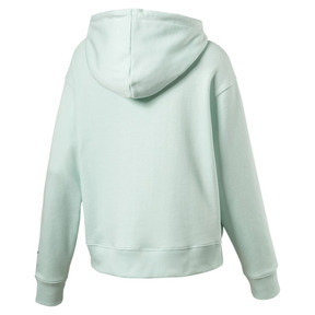 Thumbnail 2 of OG Women's Cropped Hoodie, Fair Aqua, medium
