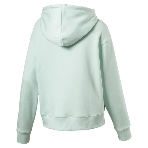 OG Women's Cropped Hoodie, Fair Aqua, large