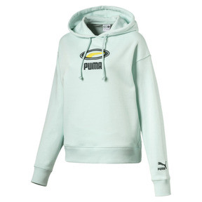 Thumbnail 1 of OG Women's Cropped Hoodie, Fair Aqua, medium