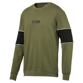 Thumbnail 1 of Men's Crew Sweater, Capulet Olive, medium