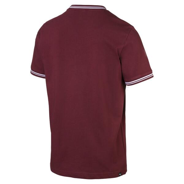 T-shirt voor heren, Tawny Port, large