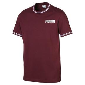 Thumbnail 1 van T-shirt voor heren, Tawny Port, medium