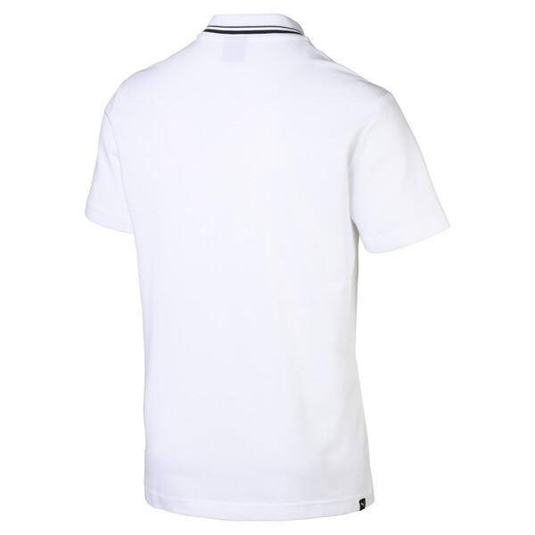 Men's Polo, Puma White, large