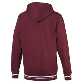 Thumbnail 2 of Fleece Men's Hoodie, Tawny Port, medium