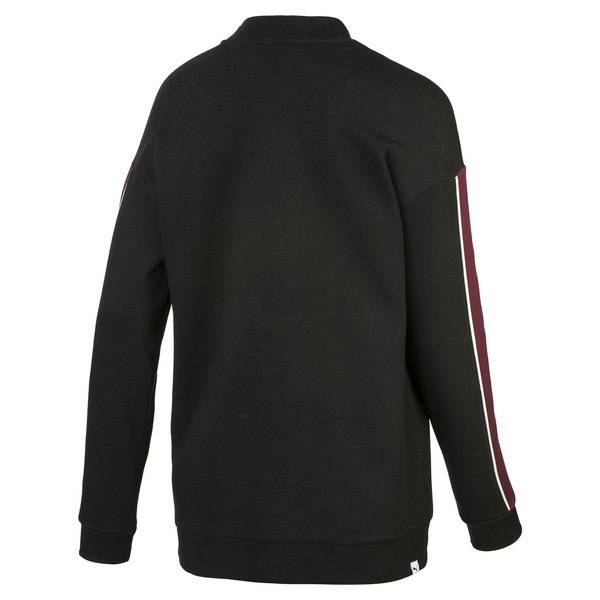 Fleece Women's Sweater, Puma Black, large