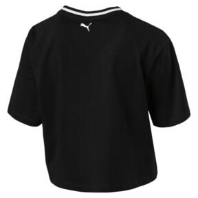 Thumbnail 2 of REBEL RELOAD ウィメンズ クロップ Tシャツ, Puma Black, medium-JPN