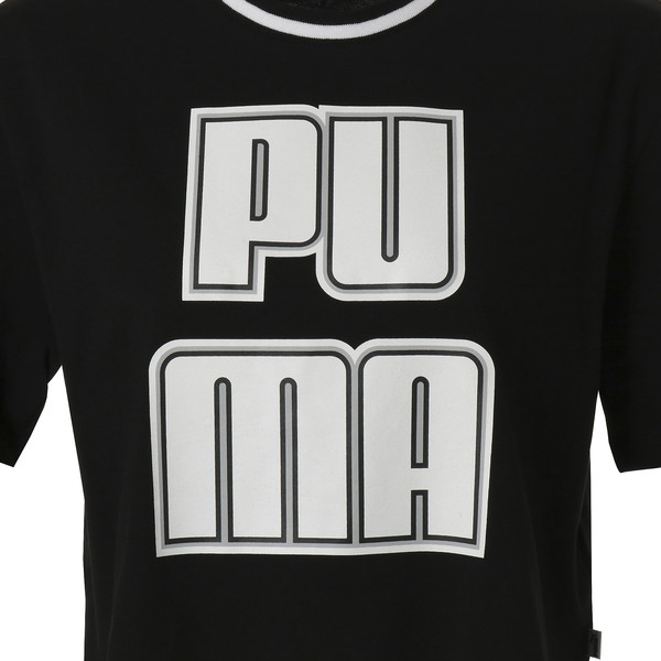 REBEL RELOAD ウィメンズ クロップ Tシャツ, Puma Black, large-JPN