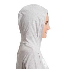 Thumbnail 3 of Urban Sports Women's Light Cover-up, Light Gray Heather, medium
