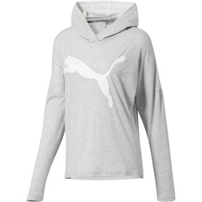 Thumbnail 1 of Urban Sports Women's Light Cover-up, Light Gray Heather, medium