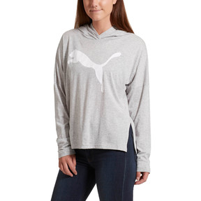 Thumbnail 2 of Urban Sports Women's Light Cover-up, Light Gray Heather, medium