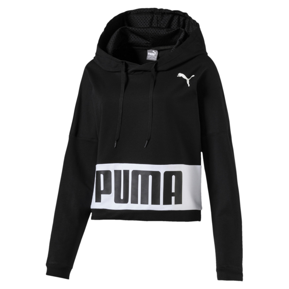 Image PUMA Women's Training Urban Sports Hoodie #1