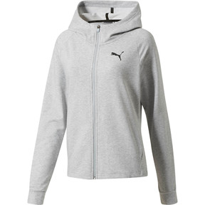 Thumbnail 1 of Training Urban Sports  Women's Full Zip Hoodie, Light Gray Heather, medium