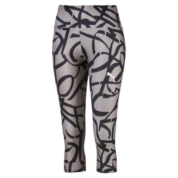 Urban Sports Women's 3/4 Leggings, Rock Ridge, large