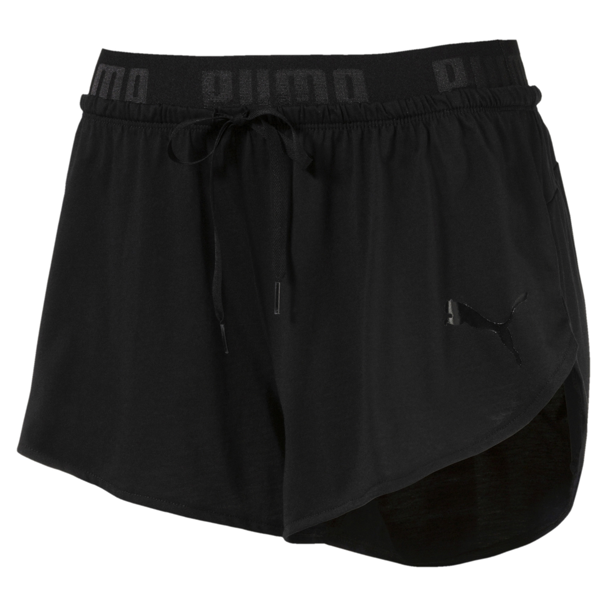 Image Puma Women's ACTIVE Essential Drapey Shorts #1
