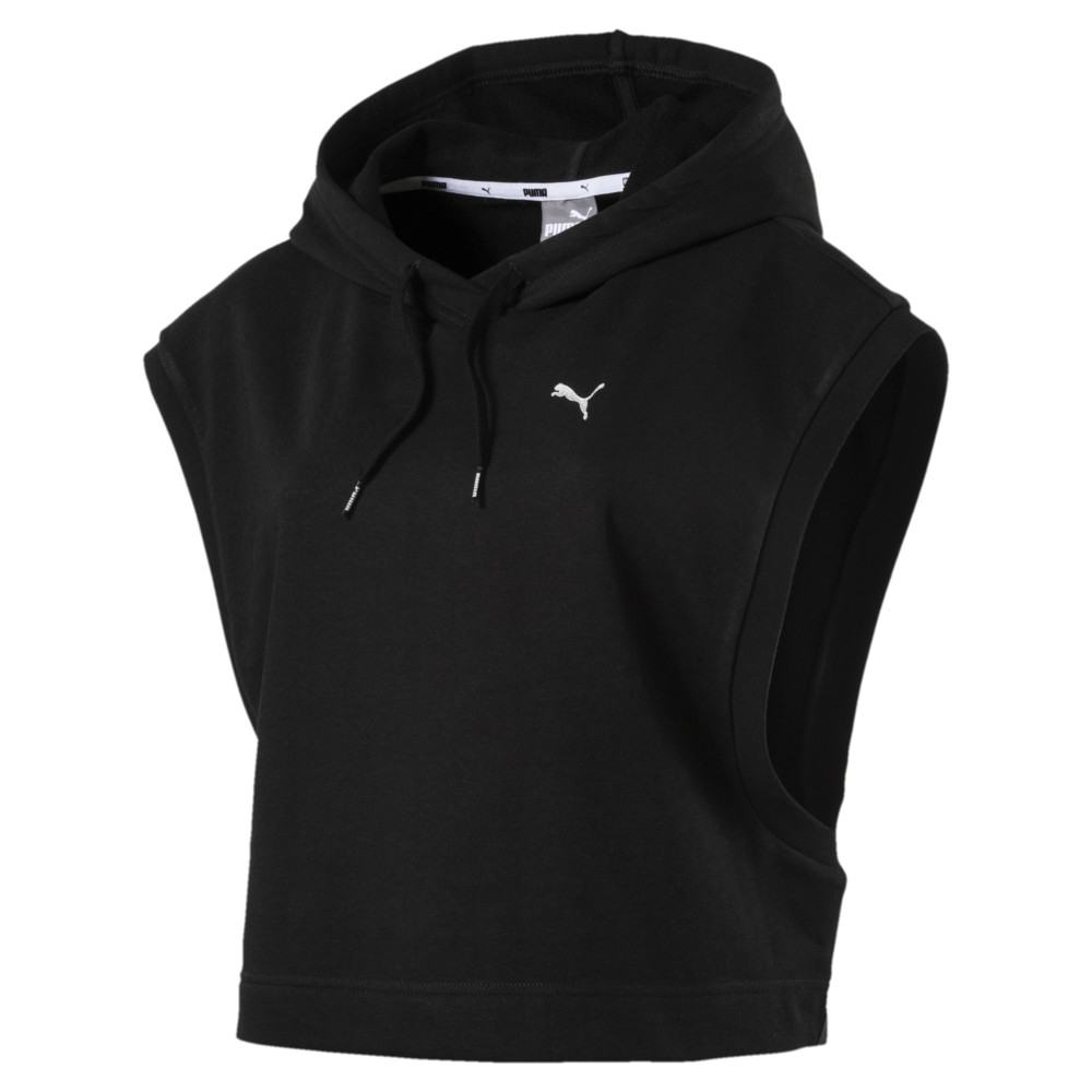 Image Puma Summer Women's Cropped Sleeveless Hoodie #1