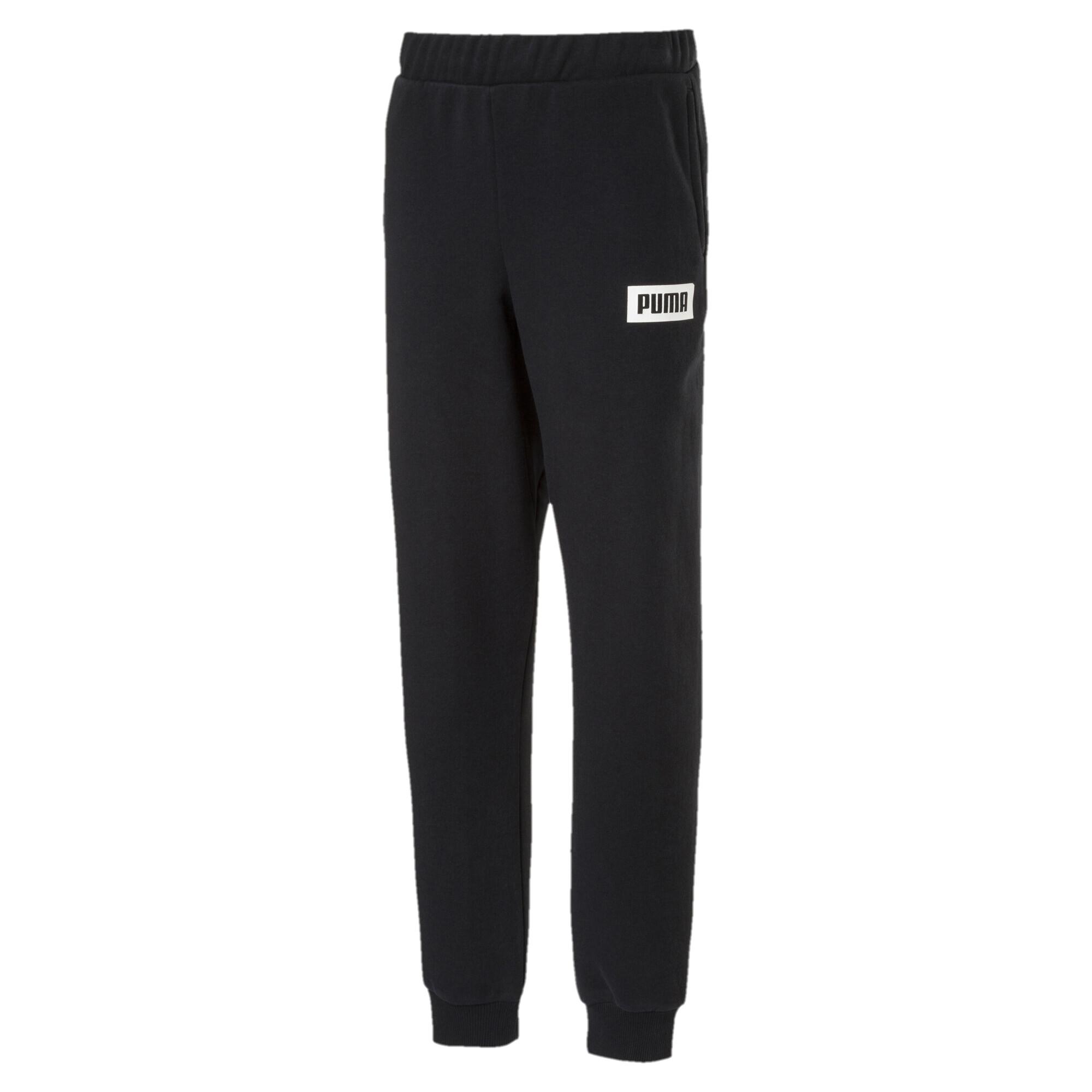 Image Puma Boys' Rebel Sweat Pants #1