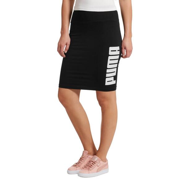 SUMMER Pencil Skirt, Puma Black, large