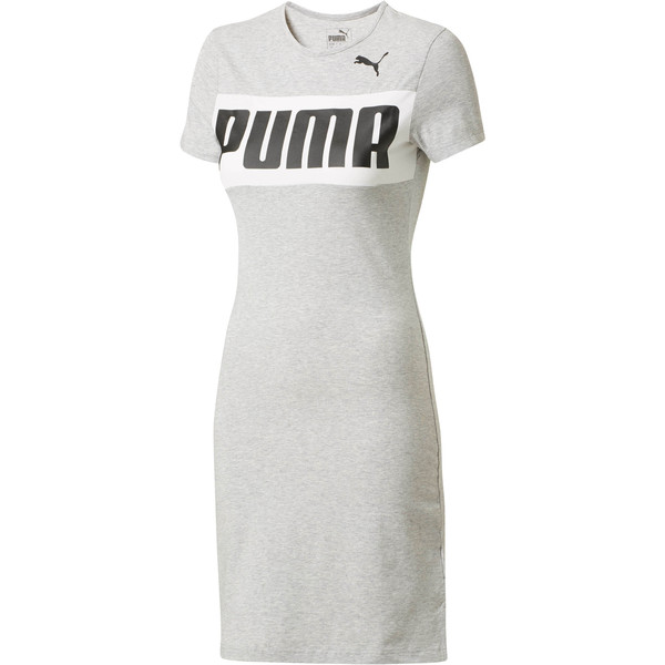 URBAN SPORTS Dress, Light Gray Heather, large