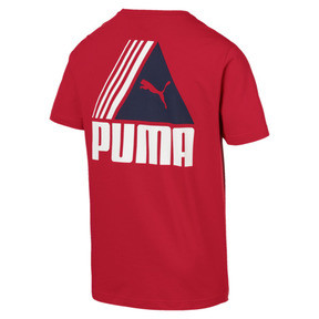 Thumbnail 3 of TRI Retro T-Shirt, Ribbon Red, medium