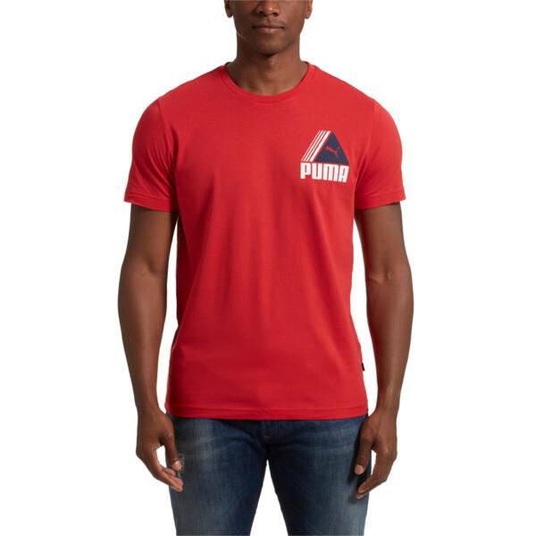 TRI Retro T-Shirt, Ribbon Red, large