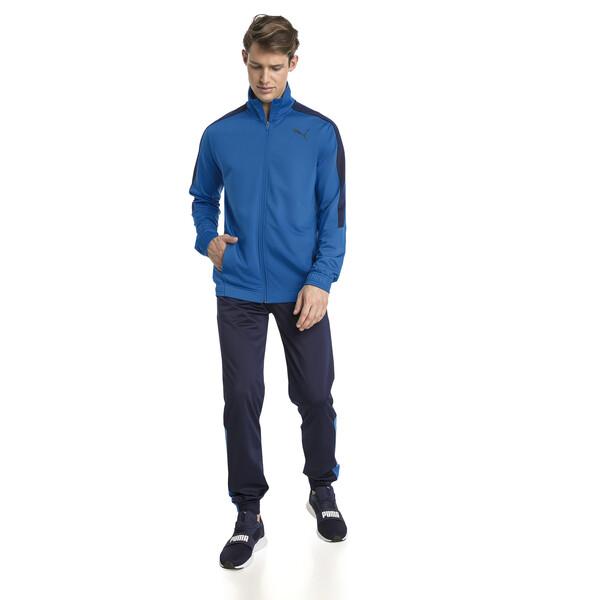 Survêtement Techstripe Tricot pour homme, Strong Blue-Peacoat, large