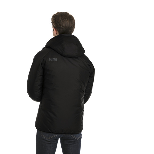 Men's warmCELL Padded Jacket, Puma Black, large