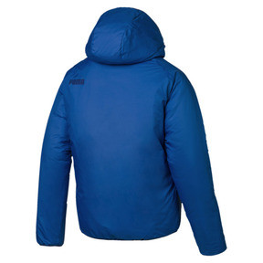 Thumbnail 4 of Men's warmCELL Padded Jacket, Strong Blue, medium