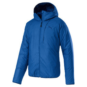 Thumbnail 1 of Men's warmCELL Padded Jacket, Strong Blue, medium